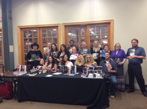 17 Awesome Authors at 1 mega book-signing
